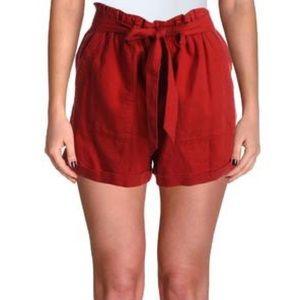 Sanctuary Paper Bag Tie Waist Shorts